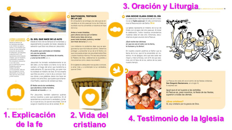 4. Testimonio de la Iglesia