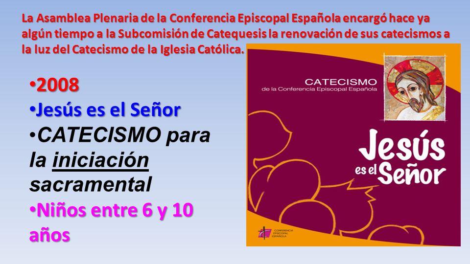 CATECISMO para la iniciación sacramental