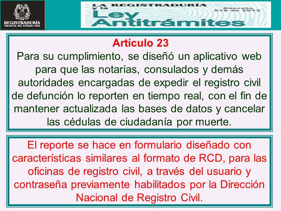 Artículo 23