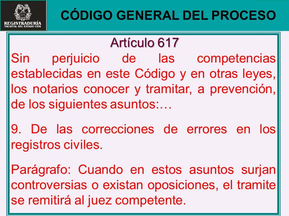 CÓDIGO GENERAL DEL PROCESO