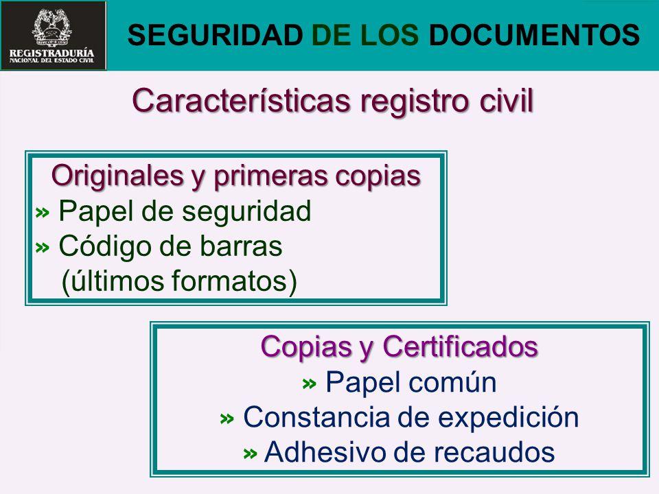 SEGURIDAD DE LOS DOCUMENTOS