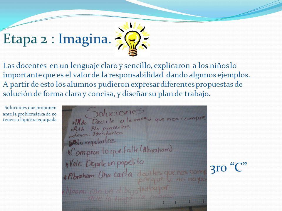 Etapa 2 : Imagina.