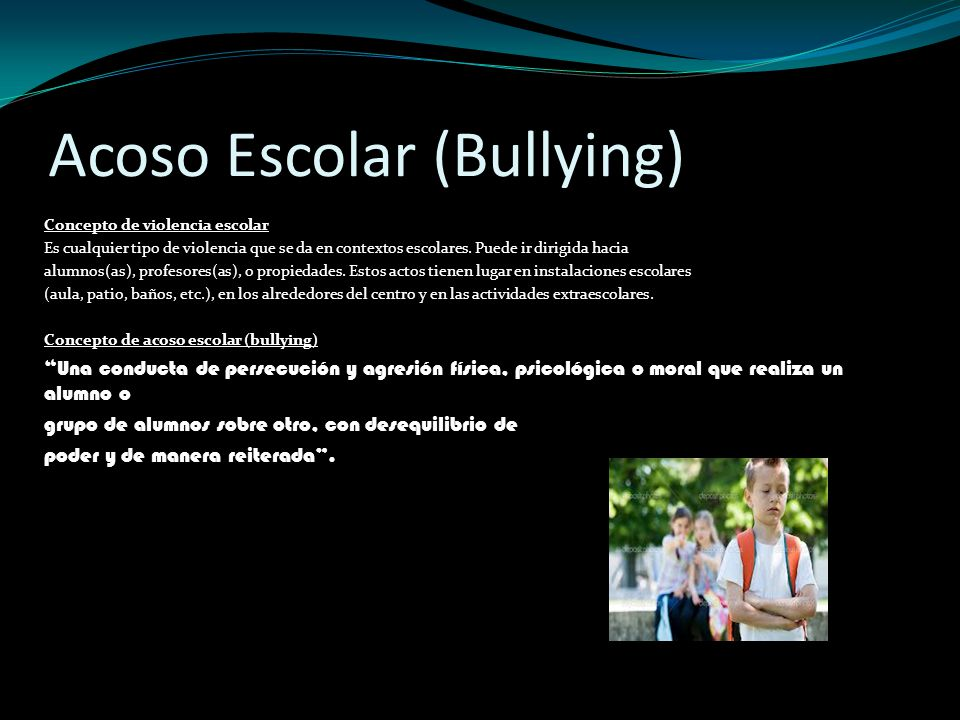 Acoso Escolar (Bullying)