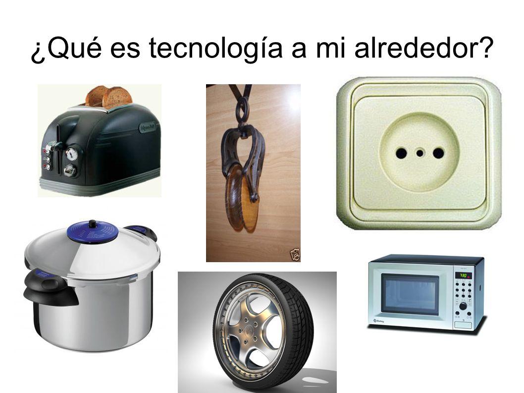¿Qué es tecnología a mi alrededor