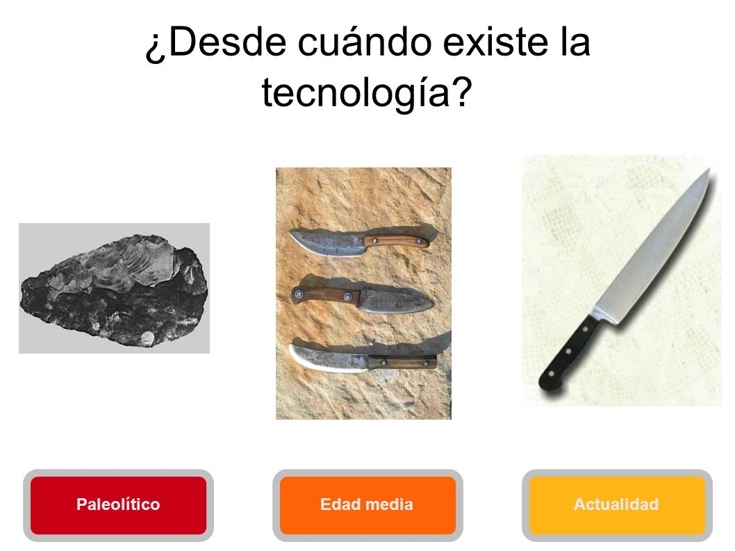 ¿Desde cuándo existe la tecnología