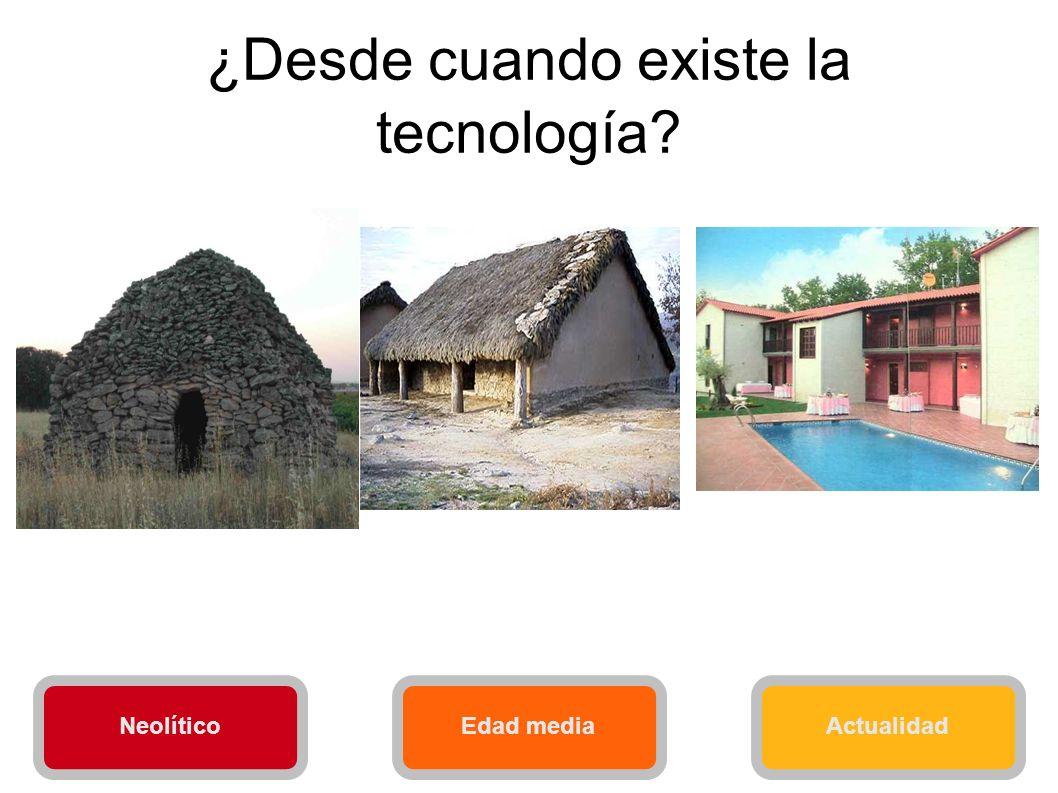 ¿Desde cuando existe la tecnología