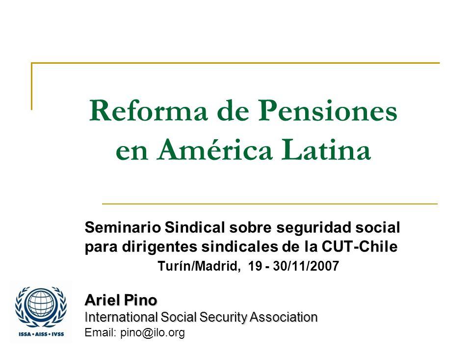 Reforma de Pensiones en América Latina