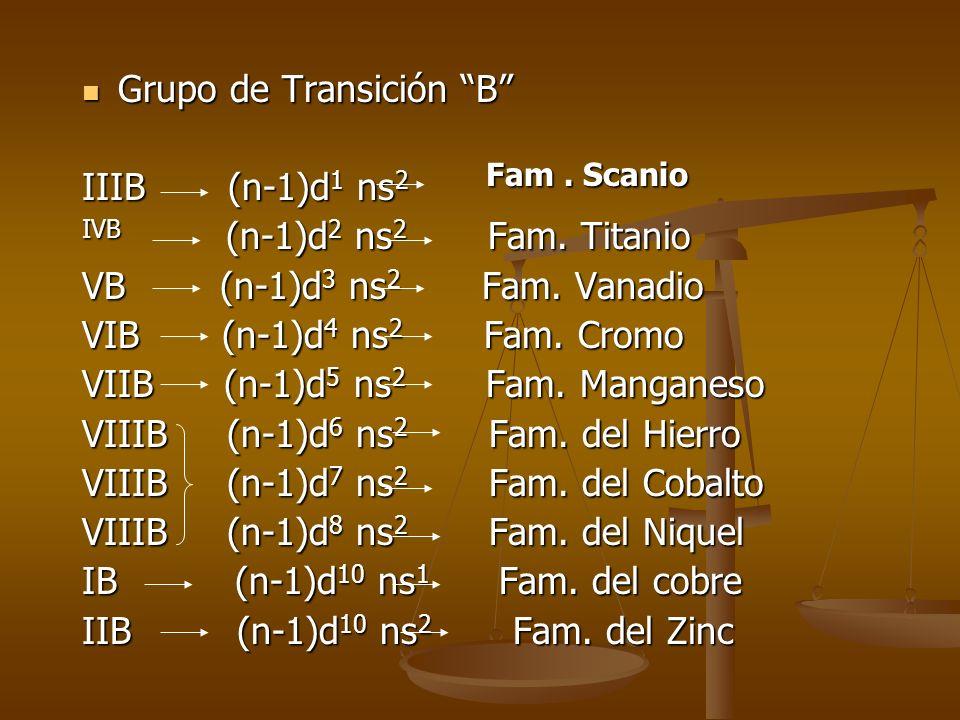 Grupo de Transición B