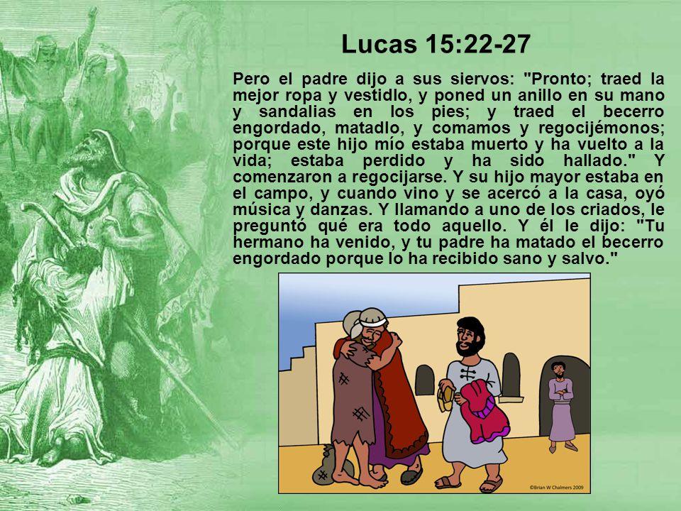 Lucas 15:22-27