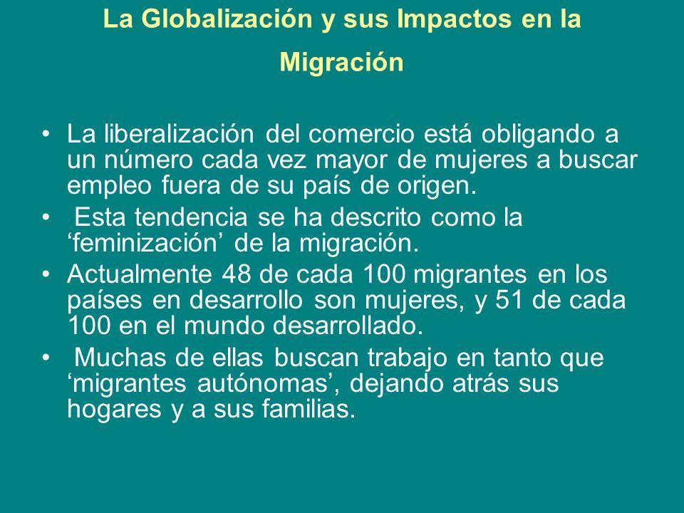 La Globalización y sus Impactos en la Migración