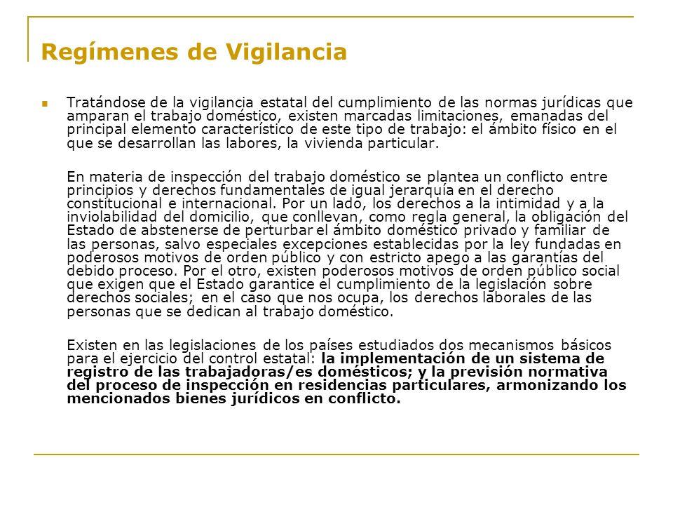 Regímenes de Vigilancia