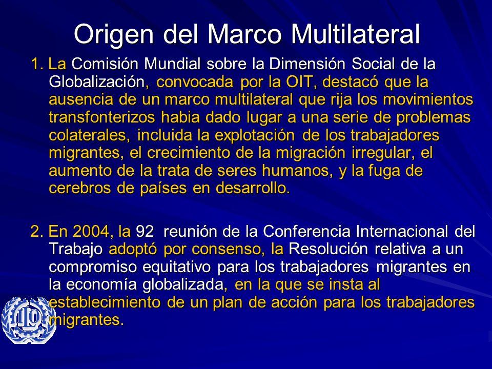Origen del Marco Multilateral