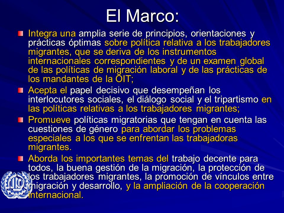 El Marco: