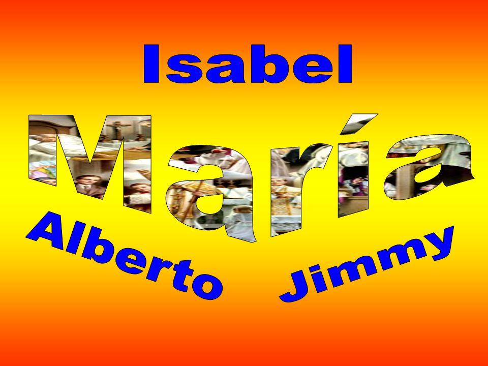Isabel María Alberto Jimmy
