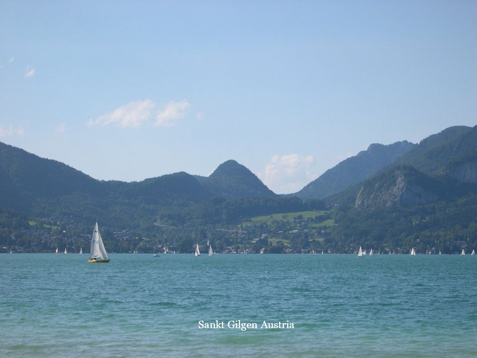 Sankt Gilgen Austria