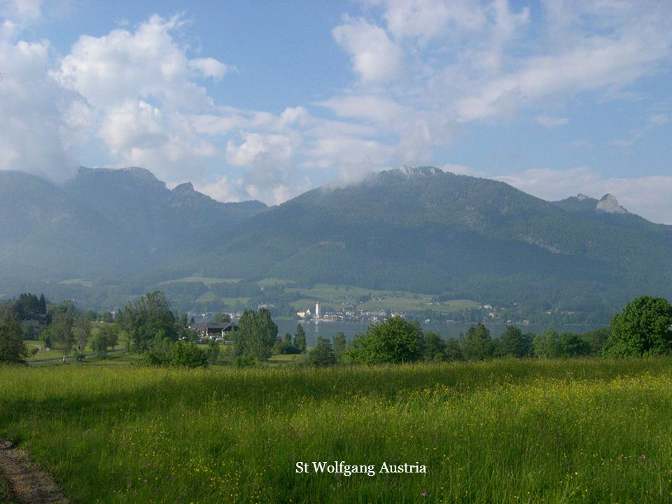 St Wolfgang Austria