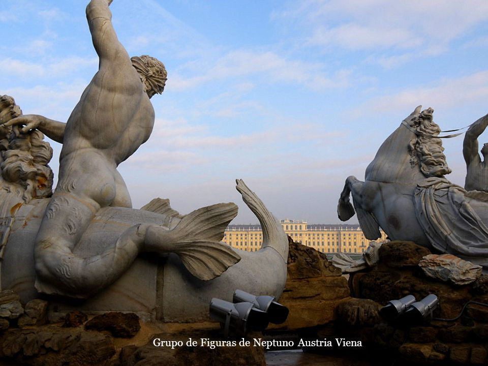 Grupo de Figuras de Neptuno Austria Viena