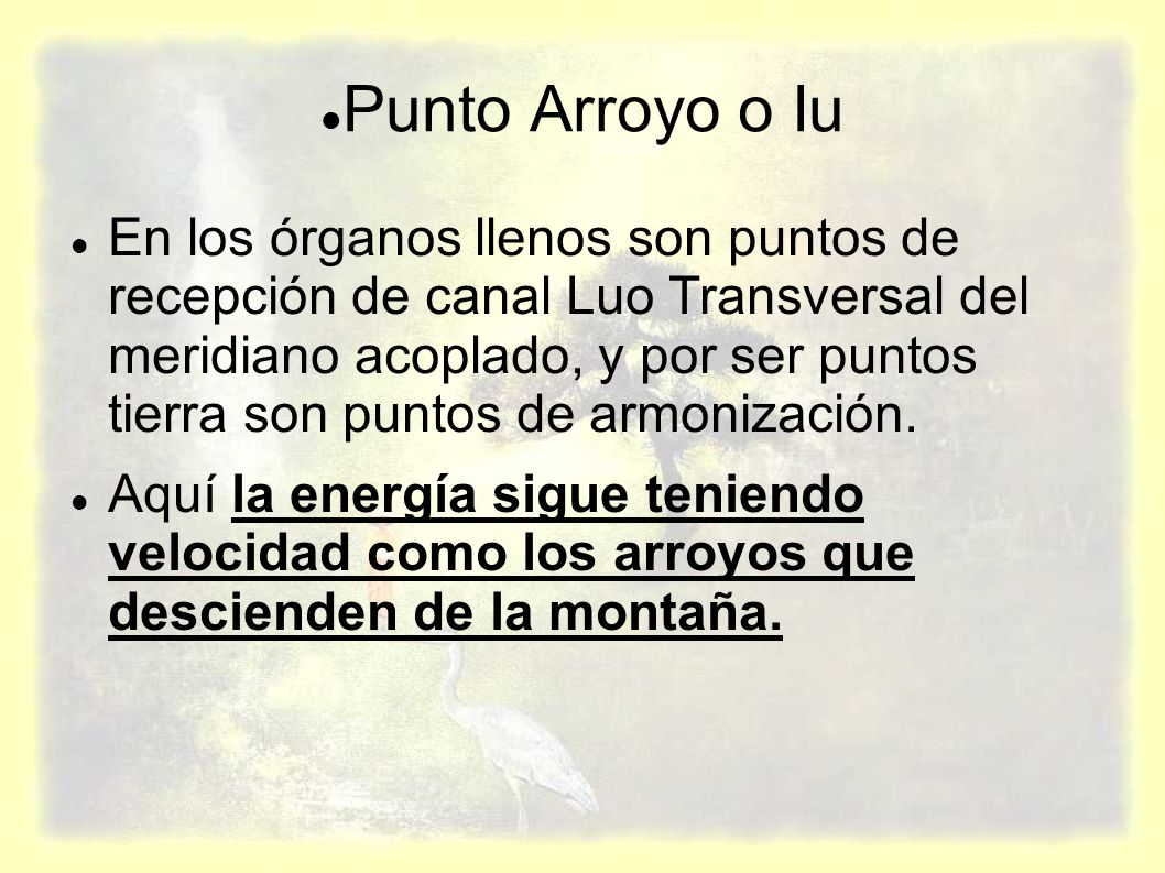Punto Arroyo o Iu