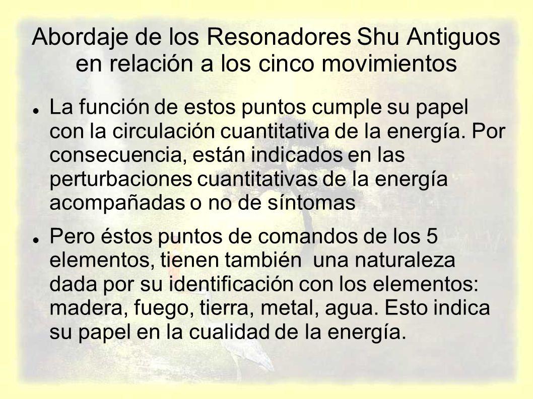 Abordaje de los Resonadores Shu Antiguos en relación a los cinco movimientos