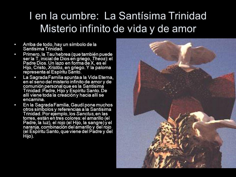 I en la cumbre: La Santísima Trinidad Misterio infinito de vida y de amor