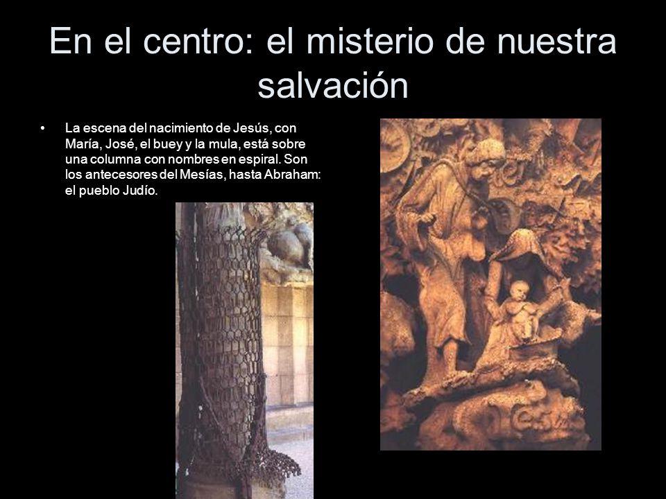 En el centro: el misterio de nuestra salvación