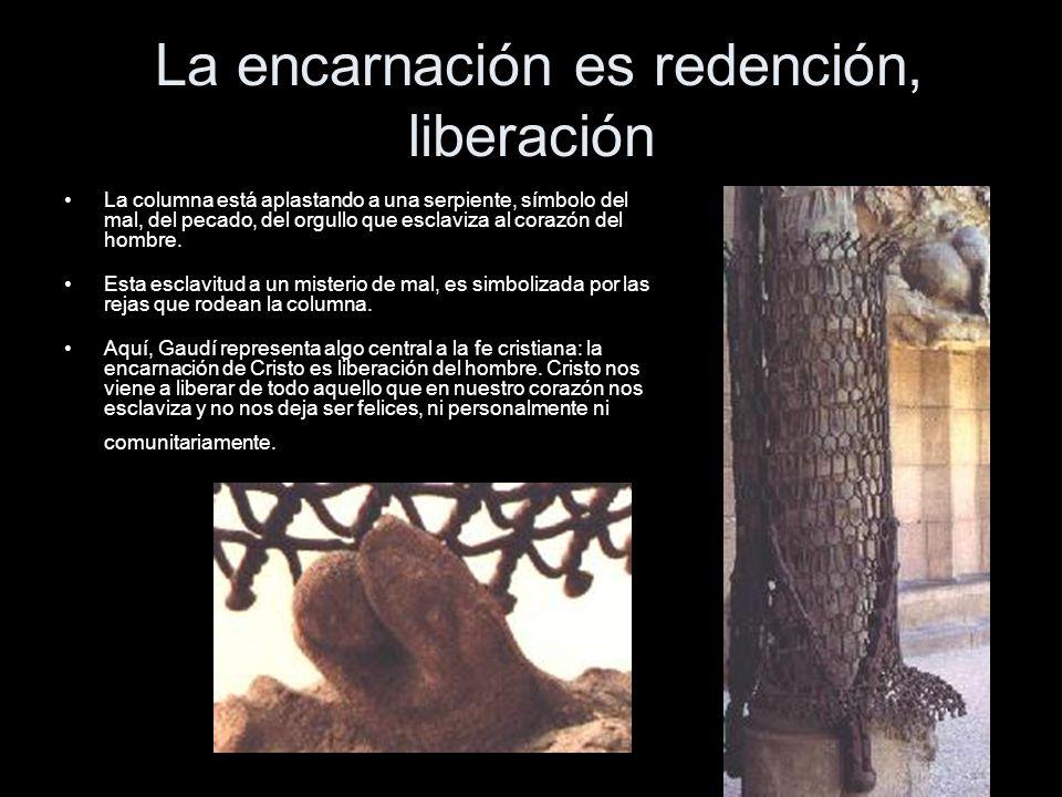 La encarnación es redención, liberación