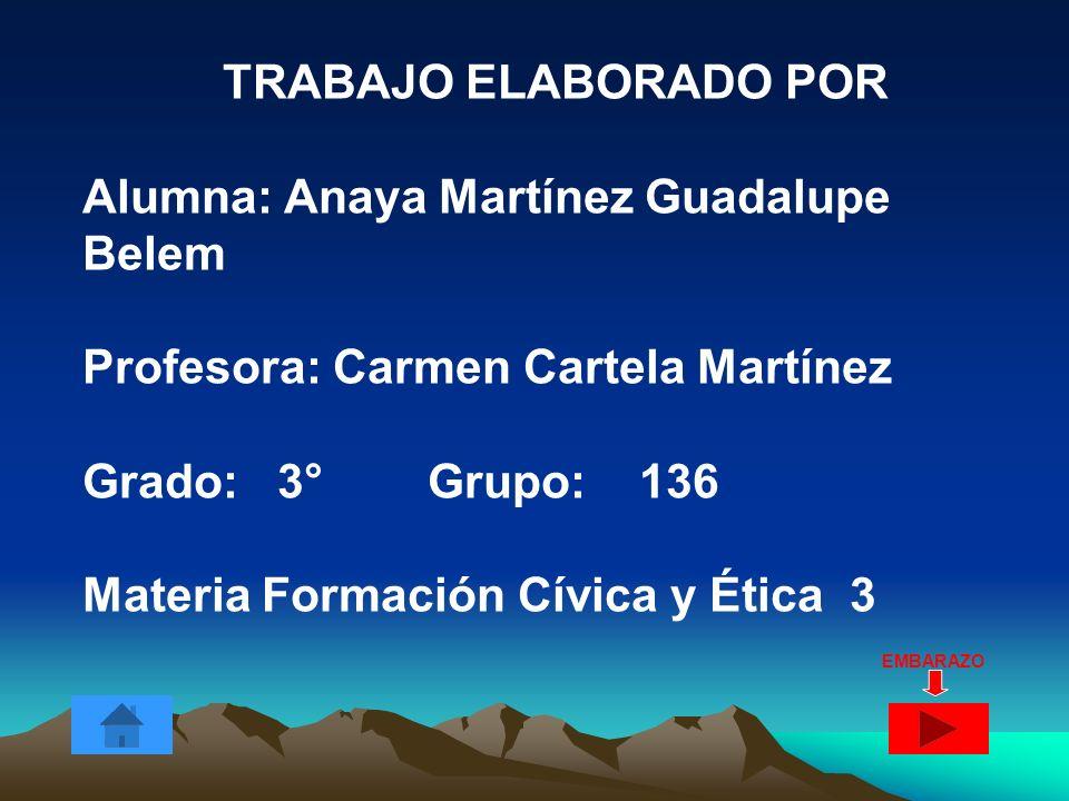 Alumna: Anaya Martínez Guadalupe Belem