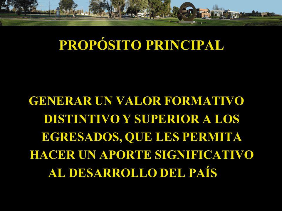 PROPÓSITO PRINCIPAL