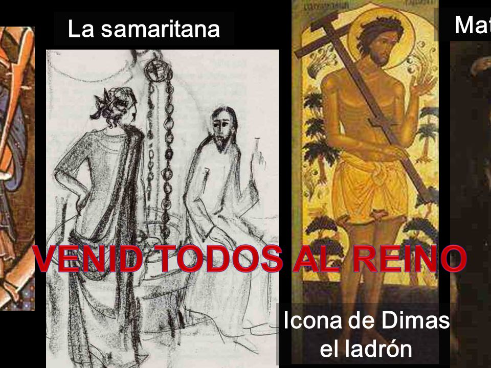 Icona de Dimas el ladrón