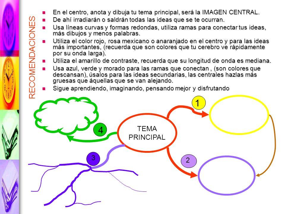 1 4 RECOMENDACIONES TEMA PRINCIPAL 3 2