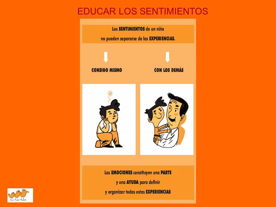 EDUCAR LOS SENTIMIENTOS