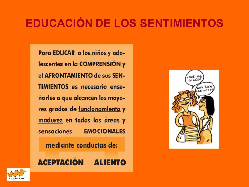 EDUCACIÓN DE LOS SENTIMIENTOS
