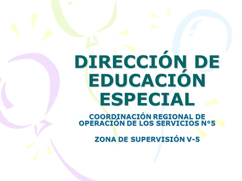 DIRECCIÓN DE EDUCACIÓN ESPECIAL