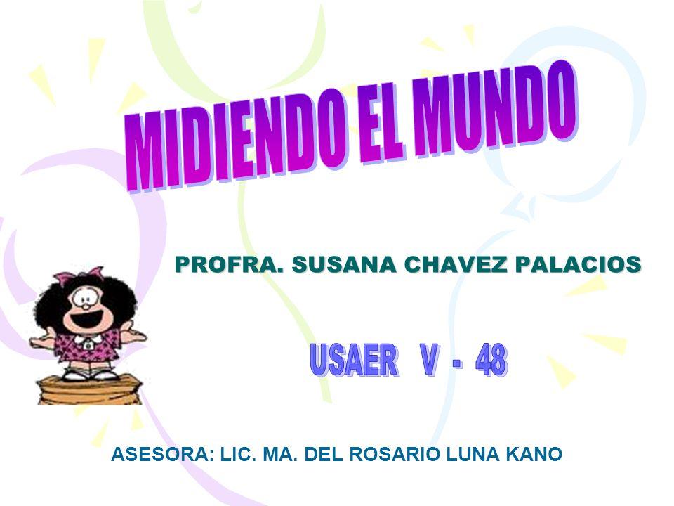 PROFRA. SUSANA CHAVEZ PALACIOS