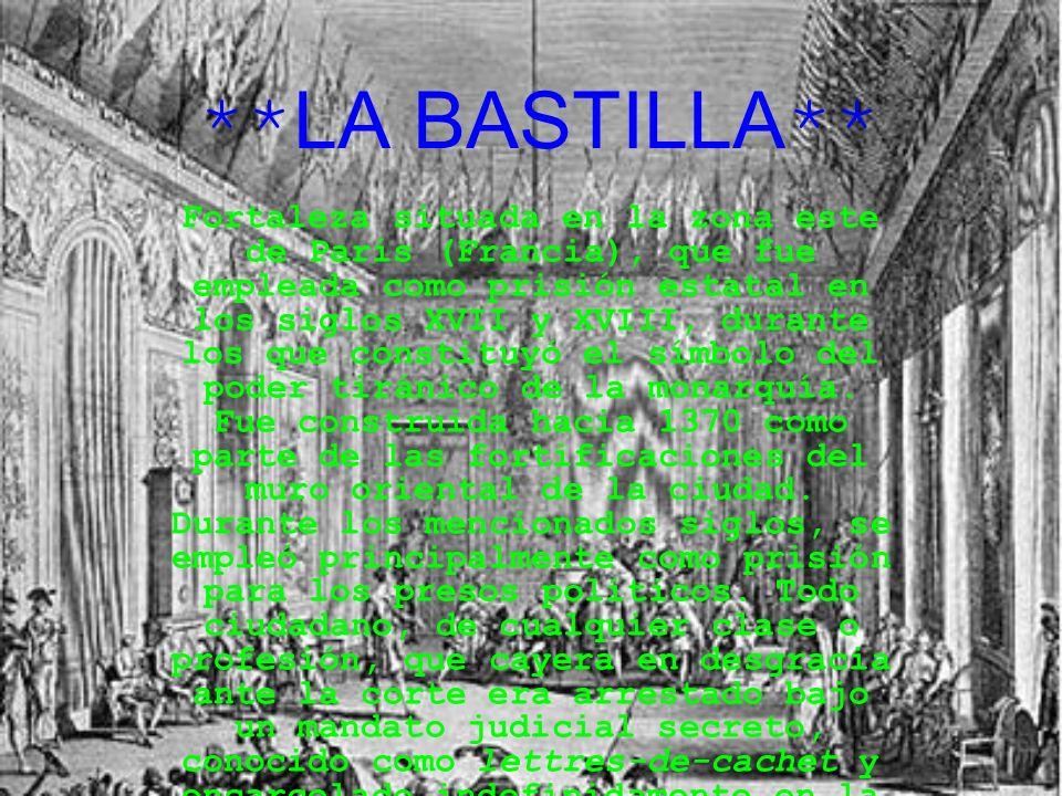 **LA BASTILLA**