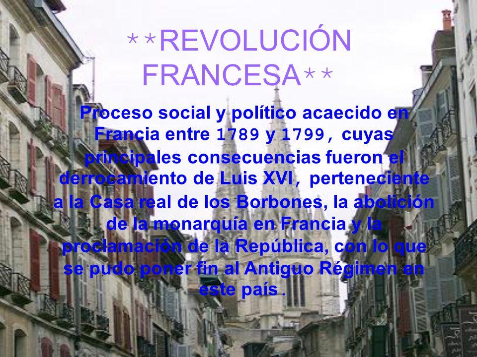 **REVOLUCIÓN FRANCESA**