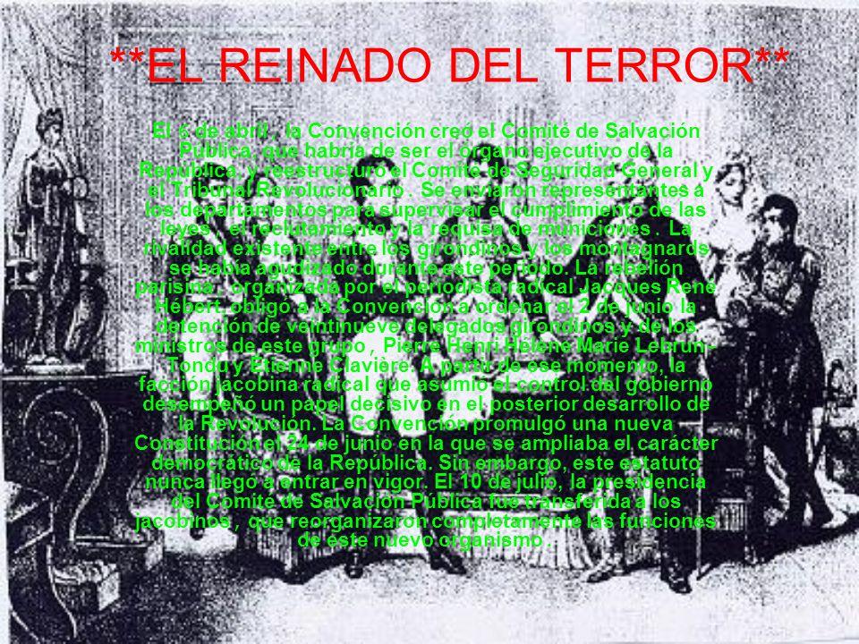 **EL REINADO DEL TERROR**