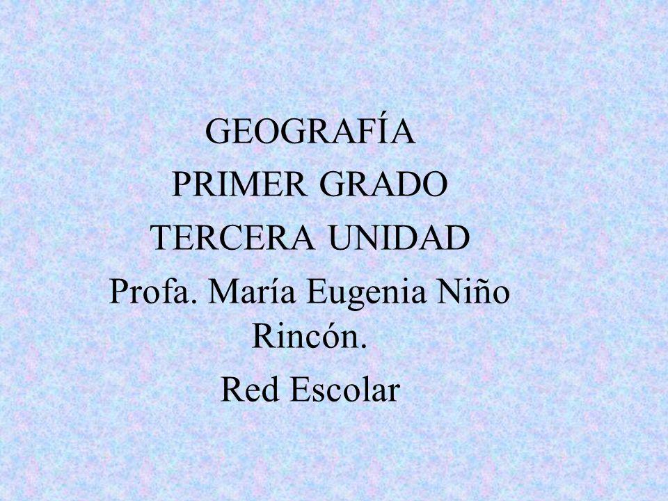 Profa. María Eugenia Niño Rincón.