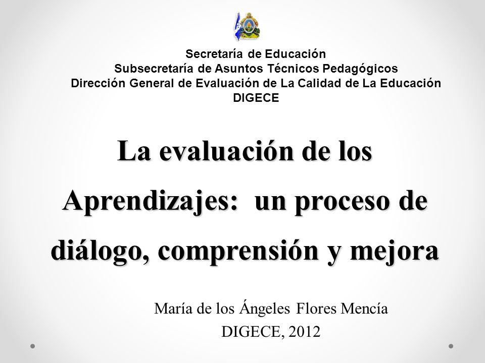 Dirección General de Evaluación de La Calidad de La Educación DIGECE