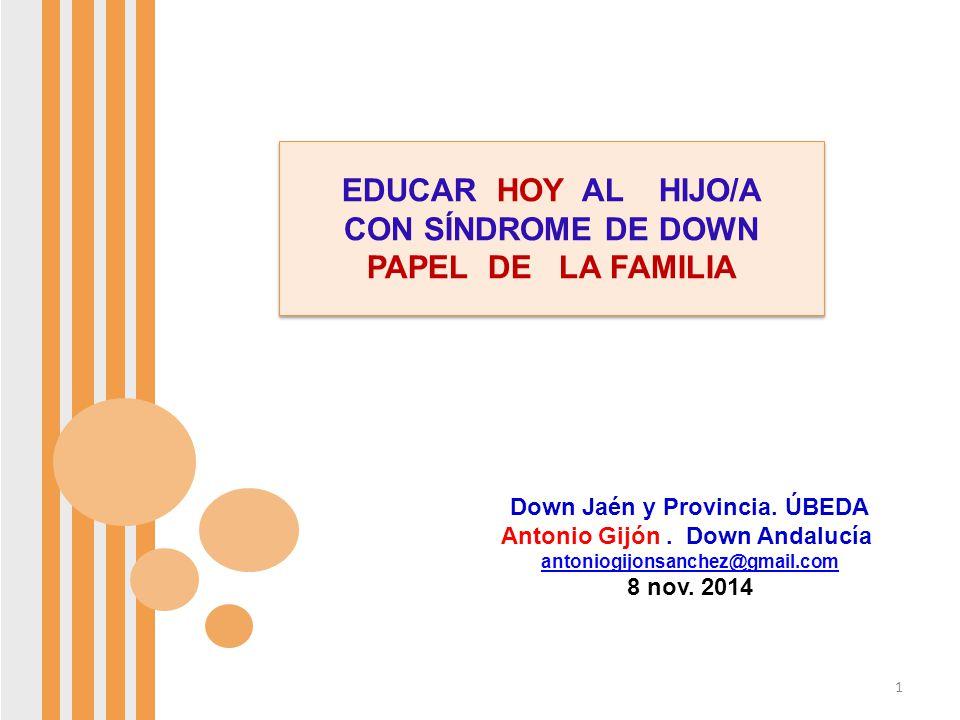 Down Jaén y Provincia. ÚBEDA Antonio Gijón . Down Andalucía