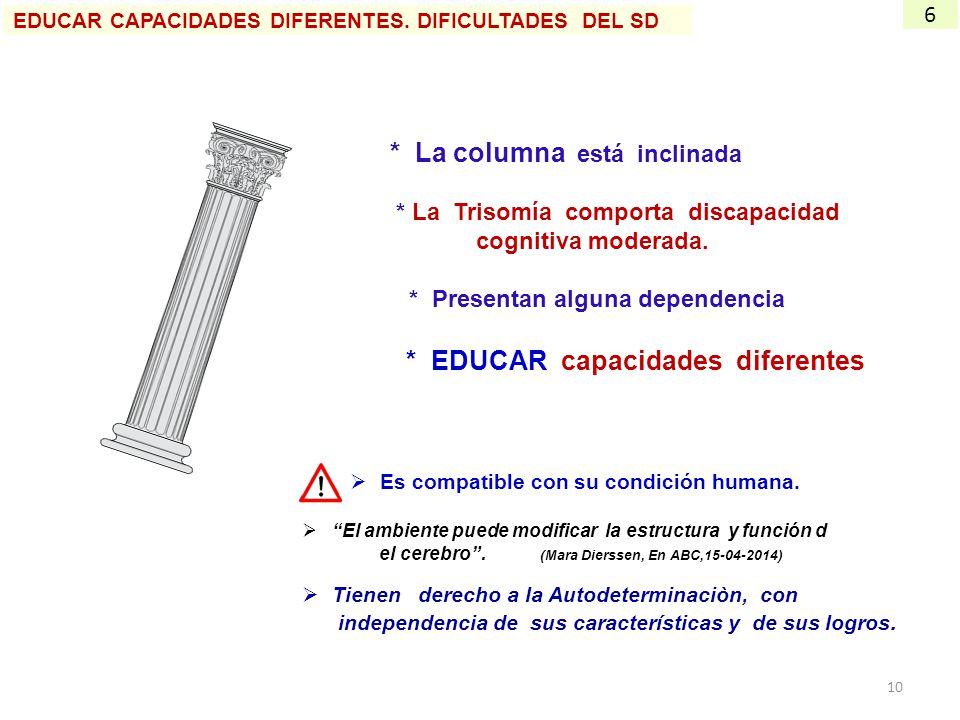 * EDUCAR capacidades diferentes
