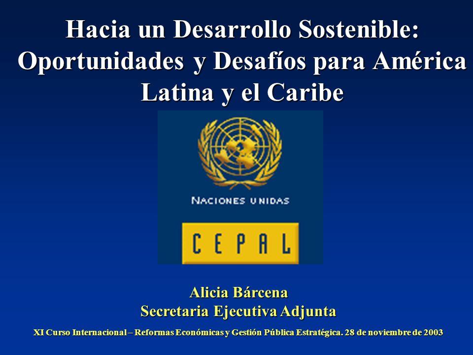 Hacia un Desarrollo Sostenible: Oportunidades y Desafíos para América Latina y el Caribe