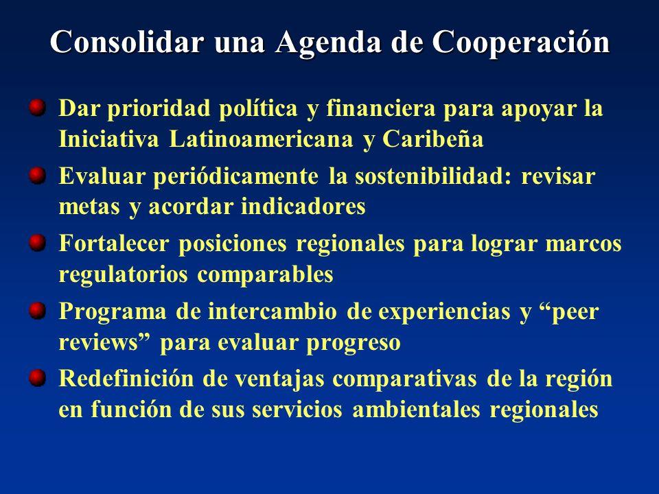 Consolidar una Agenda de Cooperación