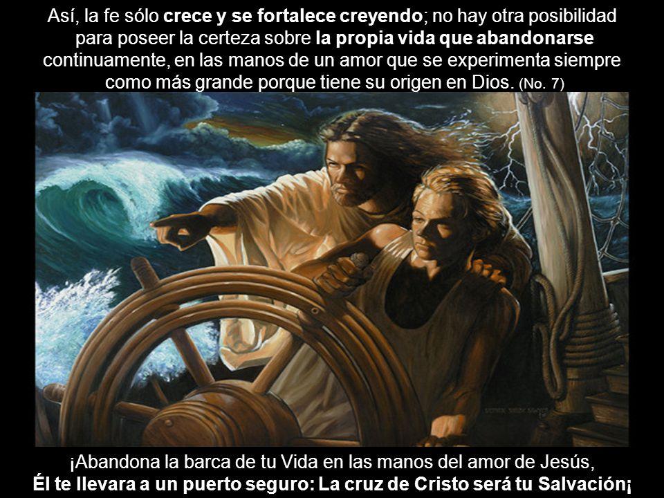 Él te llevara a un puerto seguro: La cruz de Cristo será tu Salvación¡