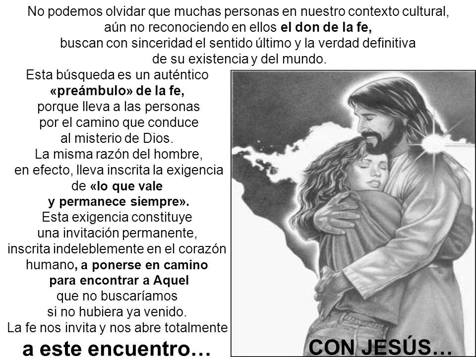 CON DIOS TRINO. CON JESÚS…