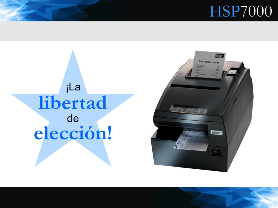 ¡La libertad de elección!