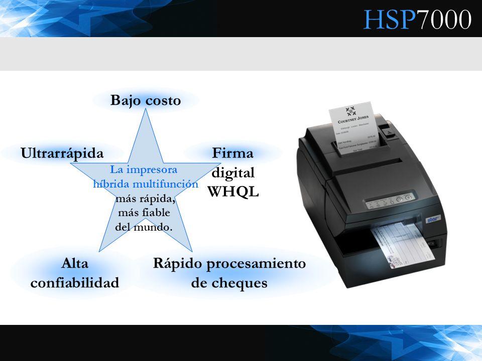 La impresora híbrida multifunción más rápida, más fiable del mundo.
