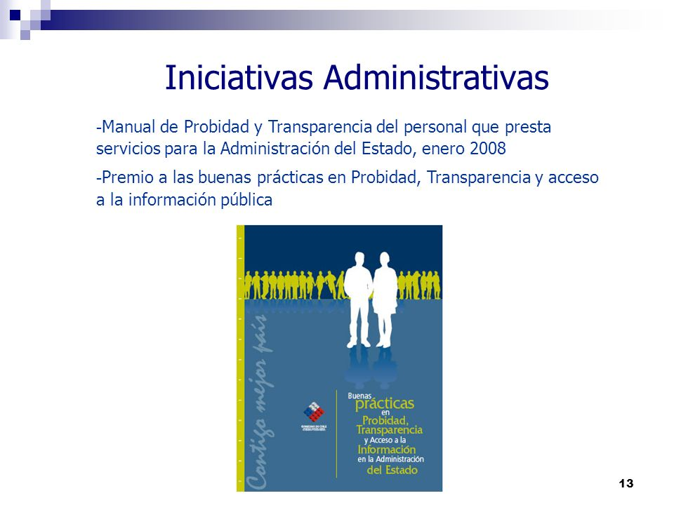 Iniciativas Administrativas