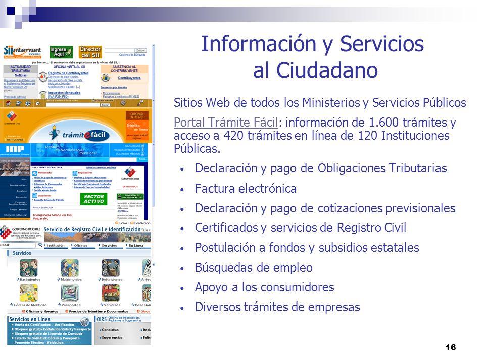 Información y Servicios al Ciudadano
