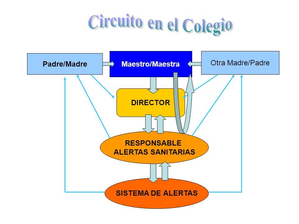 Circuito en el Colegio Maestro/Maestra Otra Madre/Padre Padre/Madre